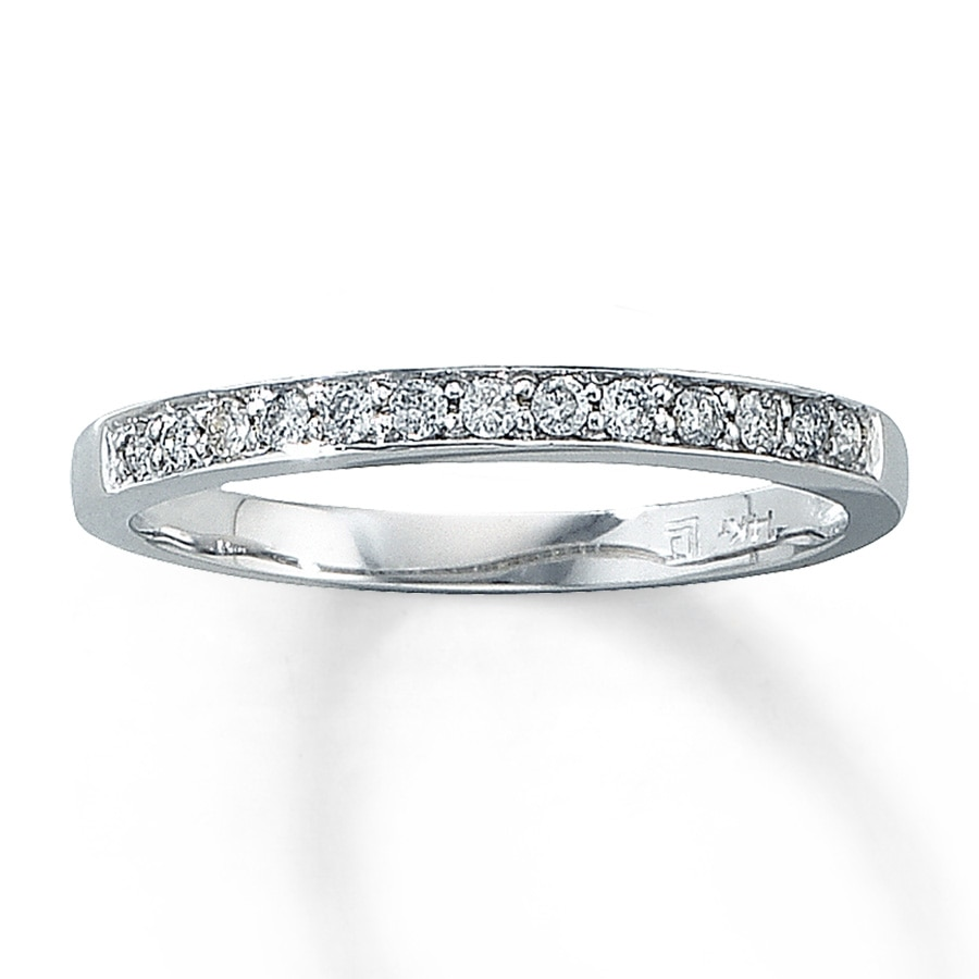 Jared Diamond Anniversary Band 18 ct tw Roundcut 14K White Gold