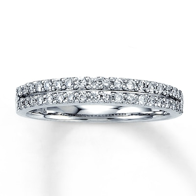 Diamond Ring 1/3 ct tw Round-Cut 14K White Gold Jared
