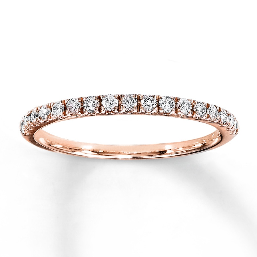 wedding jamie diamond twist band bands rose anniversary gold in