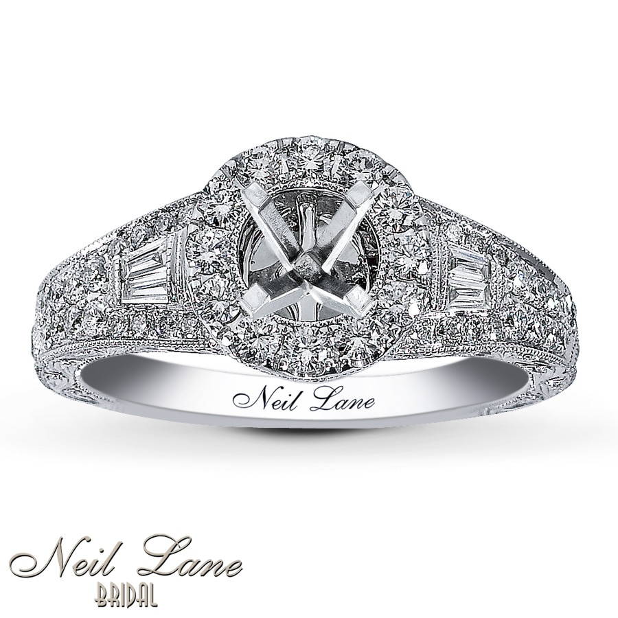Neil lane engagement rings in box