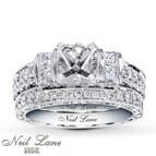 Neil Lane Bridal Setting 1 ct tw Diamonds 14K White Gold