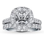Neil Lane Bridal Setting 2 ct tw Diamonds 14K White Gold
