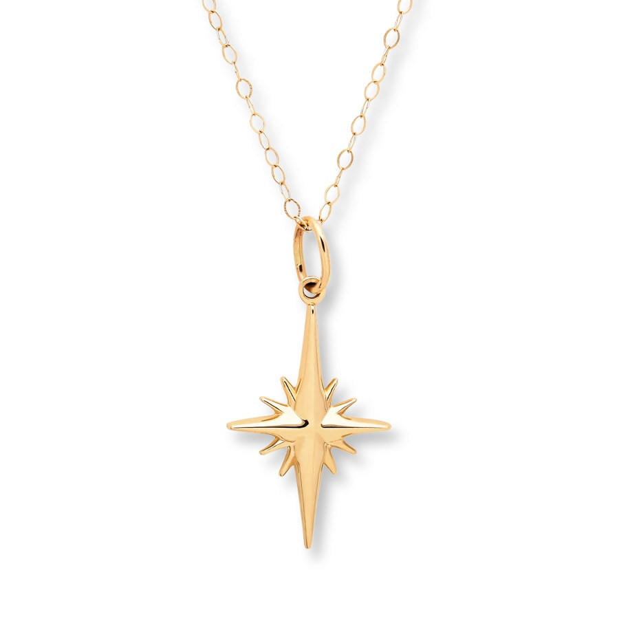 necklace aluna mae delicate layla star zoom north silver image pendant product