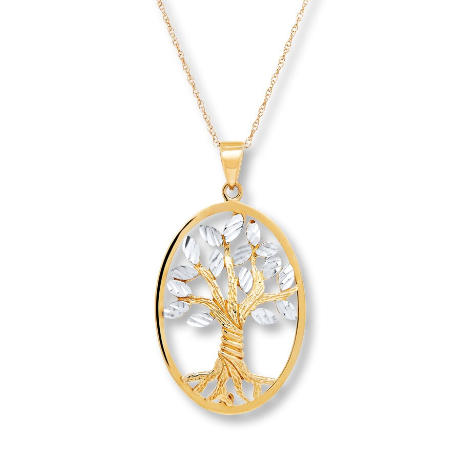 tree stone family heart necklace engravable pendant birthstone