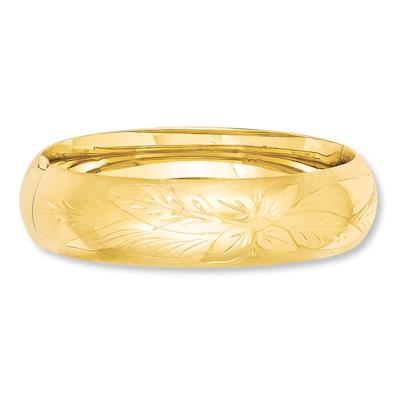 Bangle Bracelet 14K Yellow Gold