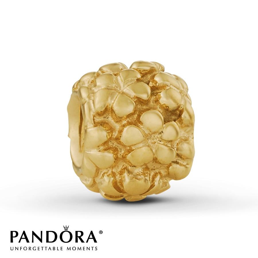 jared pandora flower power charm