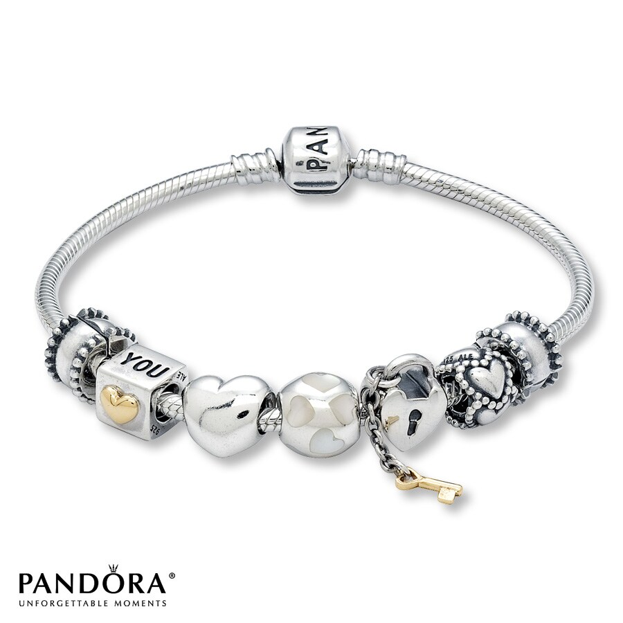 Jared Pandora All About Romance Starter Bracelet Set