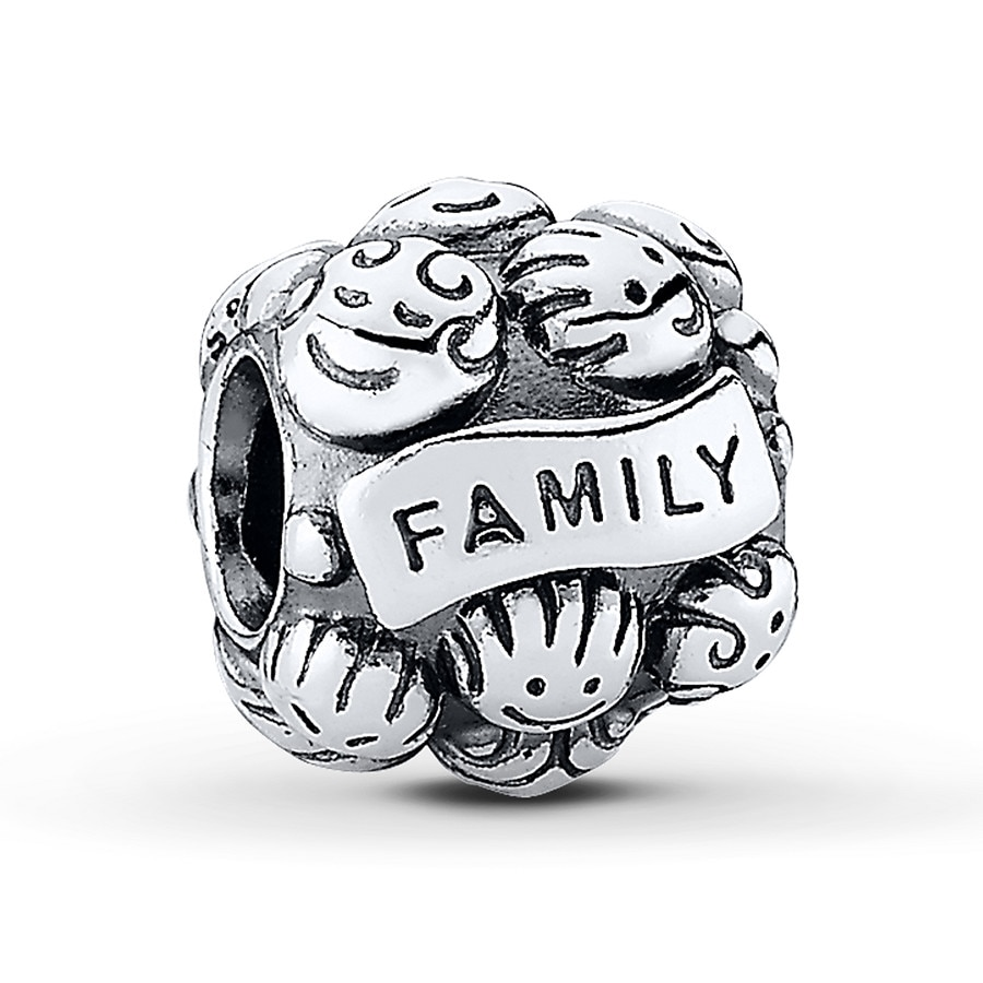 Jared PANDORA Charm Love Family Sterling Silver