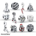 Pandora Gift Set 12 Days of Christmas Sterling Silver/14K Gold