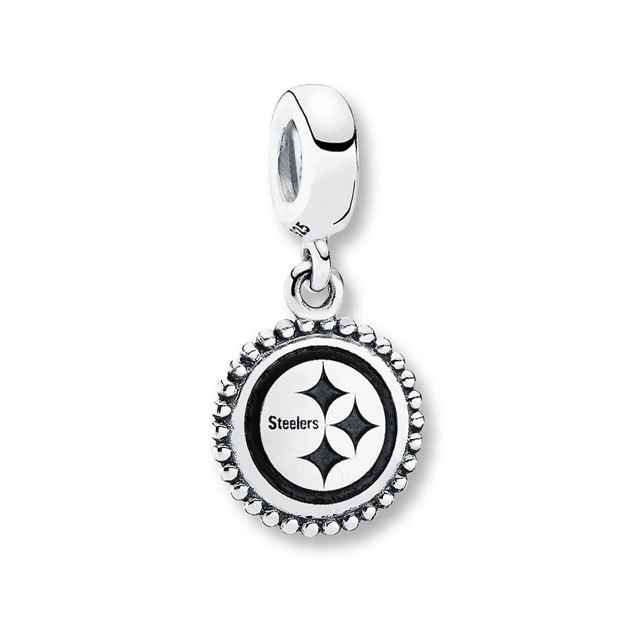 Jared PANDORA Charm Pittsburgh Steelers Sterling Silver