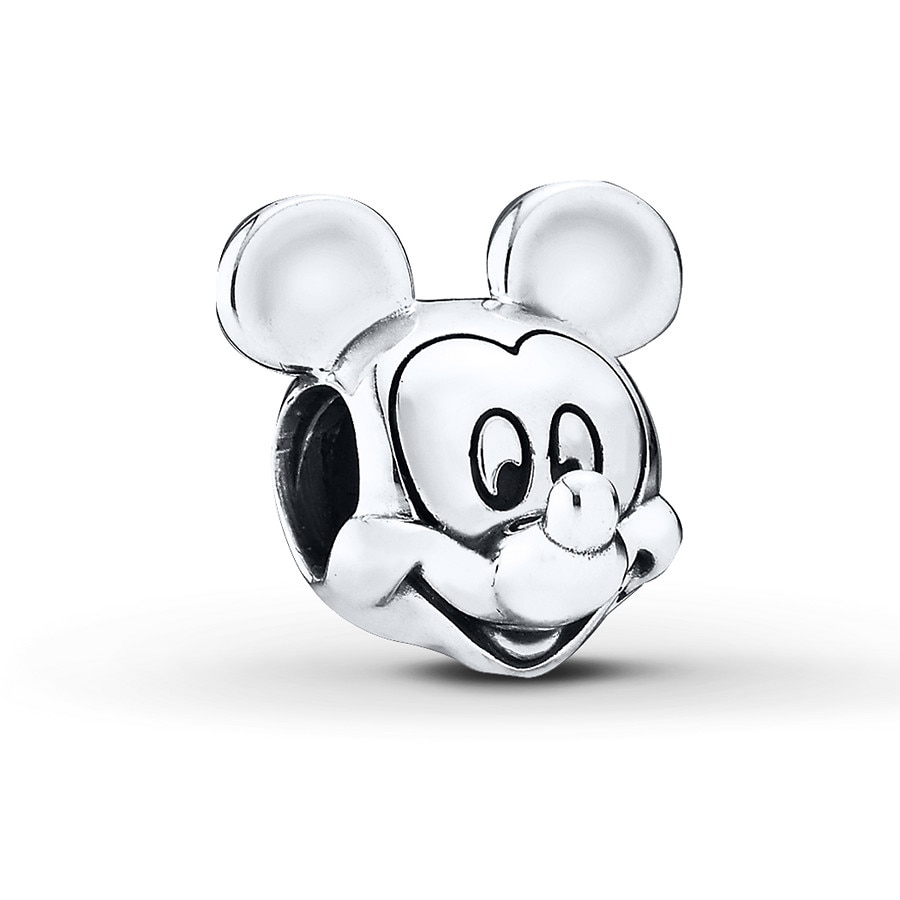 Jared PANDORA Charm Disney Mickey Portrait Sterling Silver