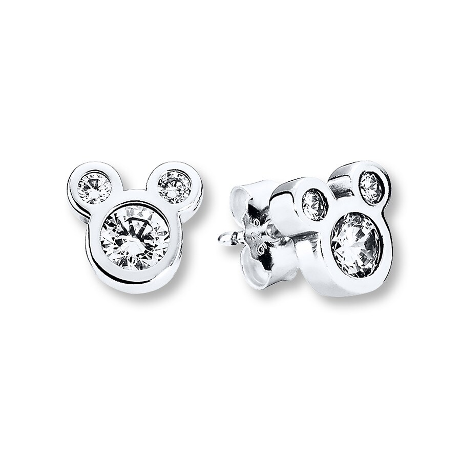 pandora disney earrings pandora earrings disney dazzling mickey sterling silver 2181