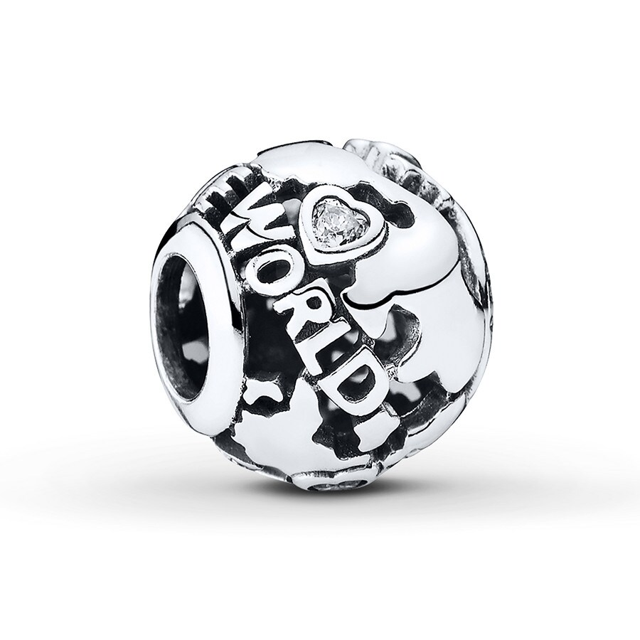 bc80a89016136 PANDORA Charm All Around the World Sterling Silver