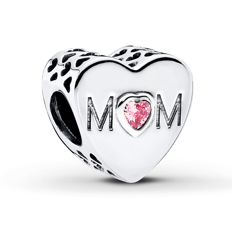 Jared PANDORA Charm Mother s Heart Sterling Silver