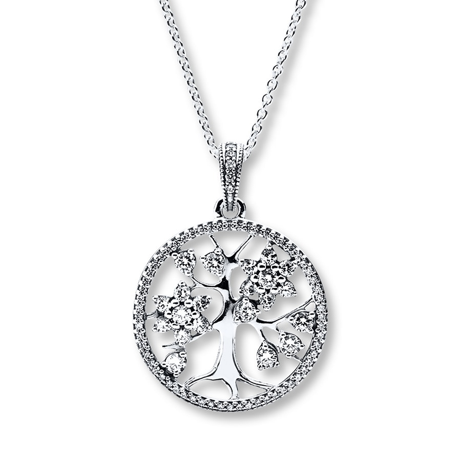 necklace products jewelry burnish sterling silver family by tree