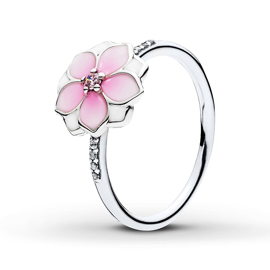 3468ff539 PANDORA Ring Magnolia Bloom Sterling Silver - 80223570599 - Jared