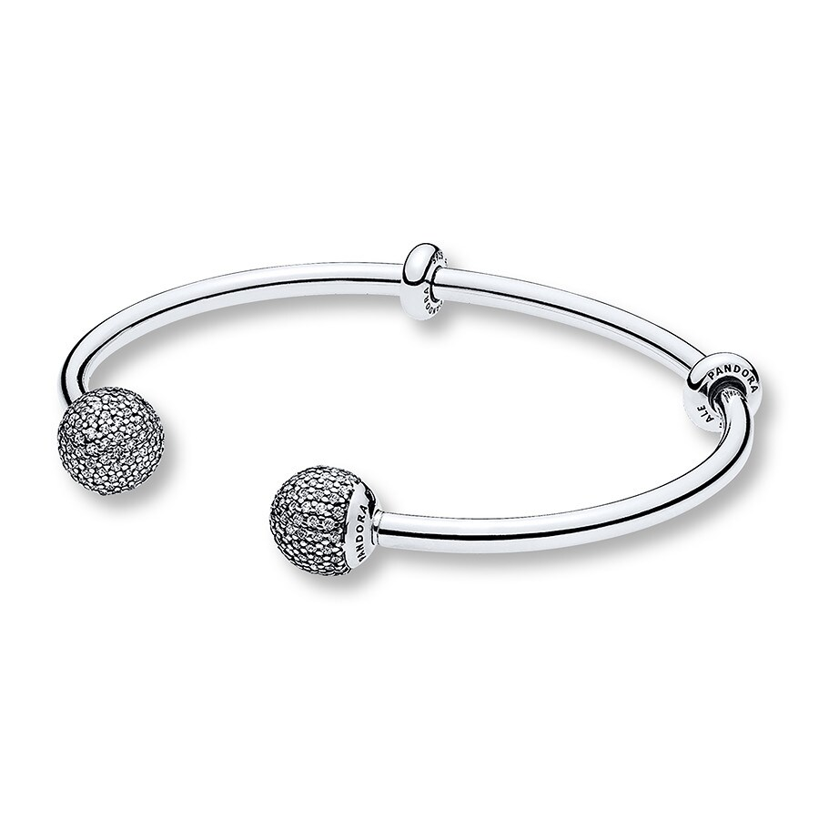 pandora jared sterling bracelet silver mv zm cz jaredstore bangle open bangles en clear jar