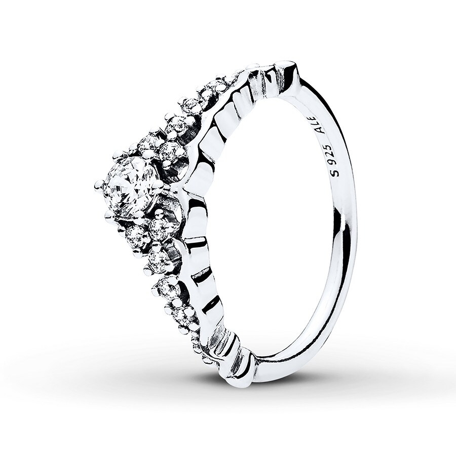 Jared PANDORA Ring Fairytale Tiara Sterling Silver