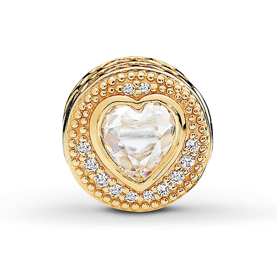 027aed5070972 PANDORA ESSENCE LOVE Charm14K Yellow Gold