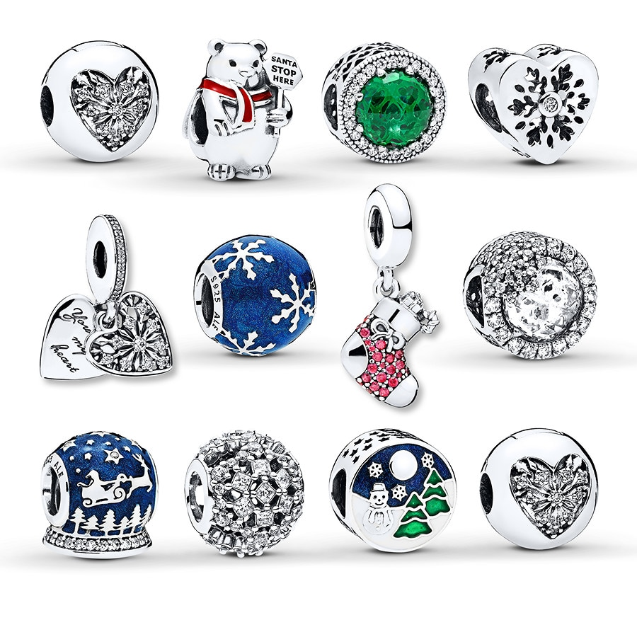 e909fcc0f PANDORA Christmas Gift Set Sterling Silver - 802333803 - Jared