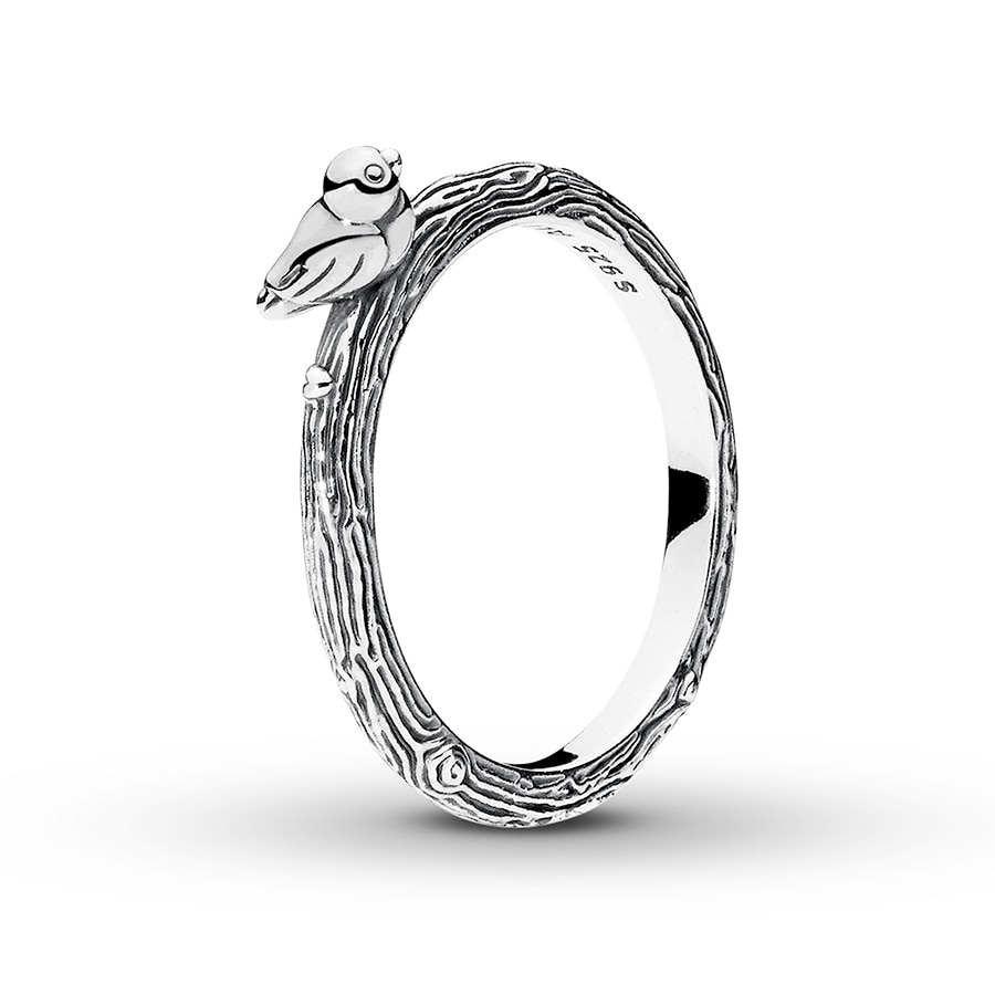 d15e772bed8eb PANDORA Ring Spring Bird Sterling Silver