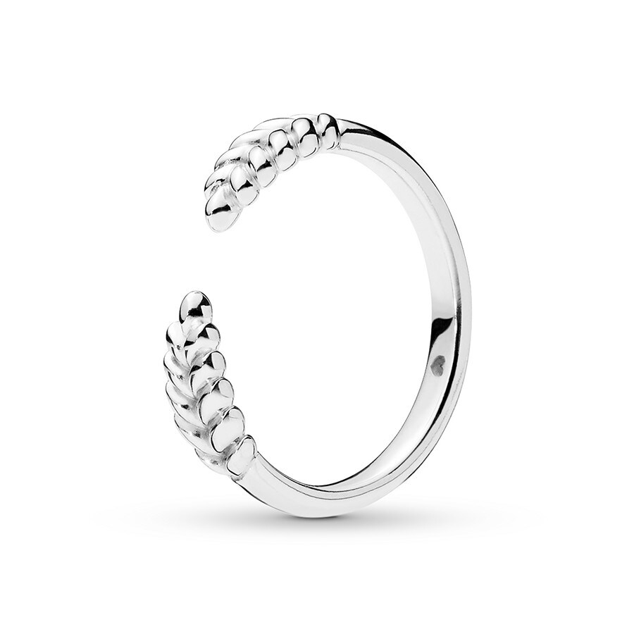 f9a883e2f ... reduced pandora ring open grains sterling silver cb668 20d35 ...