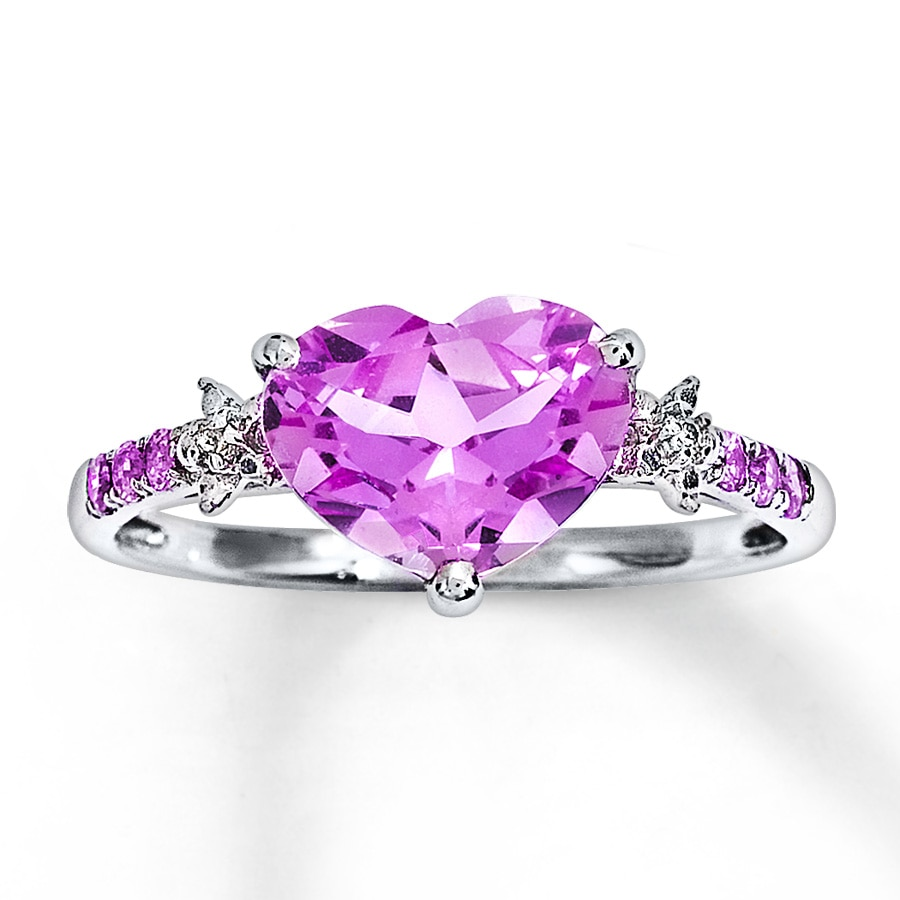 elegant ring uk wedding for sapphire opal white heart pink gold women products filled rings us