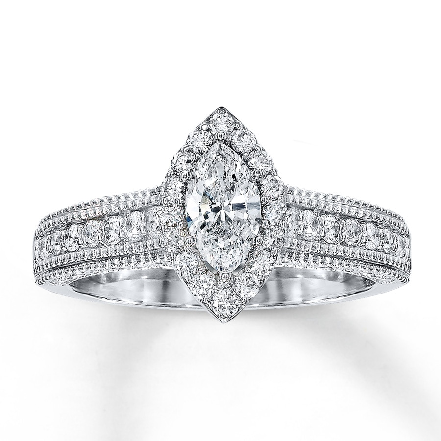 wedding ct setmain cut nile engagement build cushion ring rings your tw own blue in diamond platinum