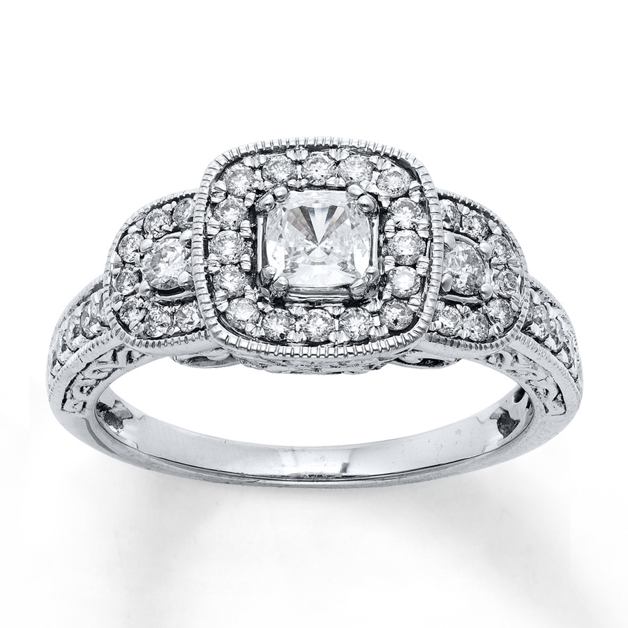 Jared Diamond Engagement Ring 1 Carat tw 14K White Gold