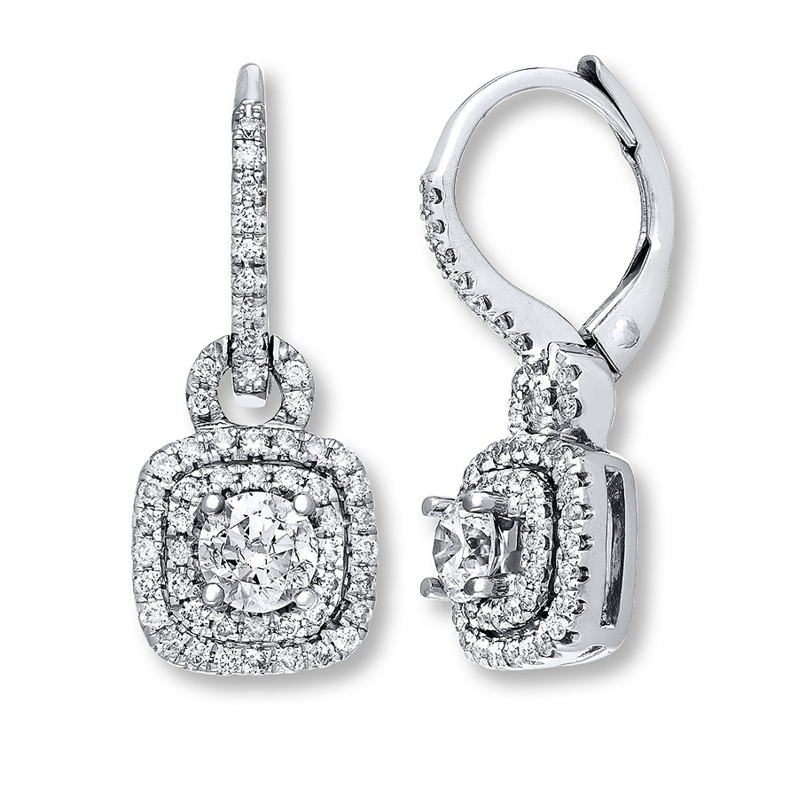 neil earrings neil earrings 7 8 ct tw diamonds 14k white gold 5630