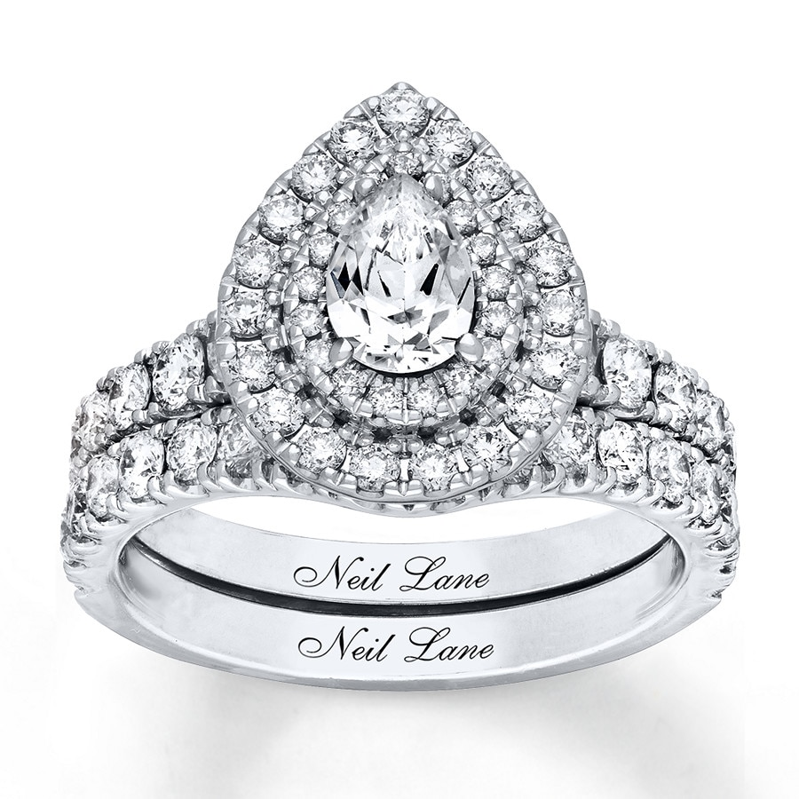 e945016a47dcf2 Neil Lane Bridal Set 2 ct tw Diamonds 14K White Gold. Stock #991249208 Read  Reviews (2). Tap to expand