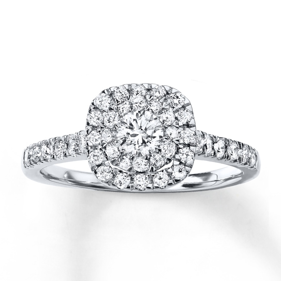 wedding ring rings white gold ct tw neil engagement lane dp diamonds
